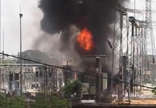 Photo of Fire guts Abuja power transmission station