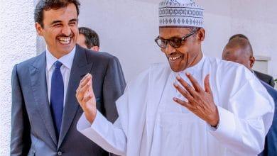 Buhari Qatar Emir Okay ng 1 390x220 - Buhari welcomes Emir of Qatar in Aso Rock [Photos]