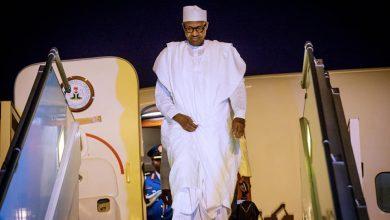 Buhari in Senegal Okay ng 1 390x220 - Buhari lands in Senegal ahead of Presidential Inauguration ceremony [Photos]