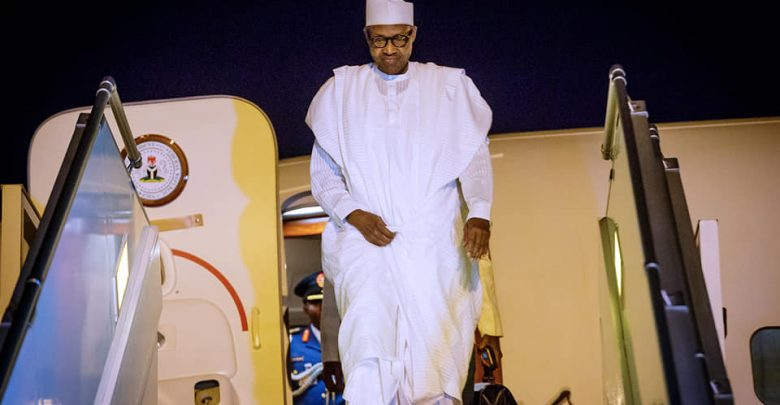 Photo of Buhari lands in Senegal ahead of Presidential Inauguration ceremony [Photos]