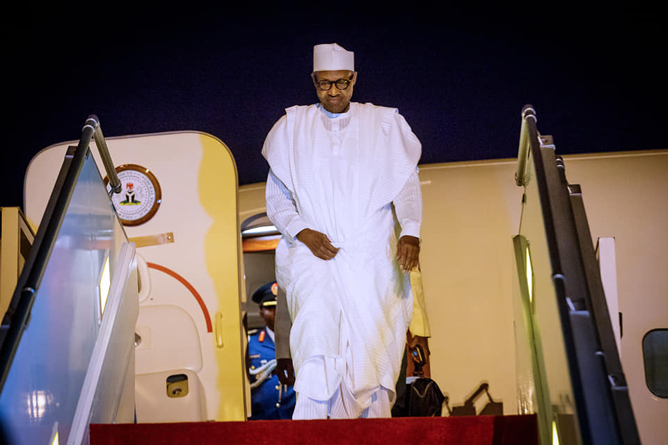 Buhari in Senegal Okay ng 1 - Buhari lands in Senegal ahead of Presidential Inauguration ceremony [Photos]