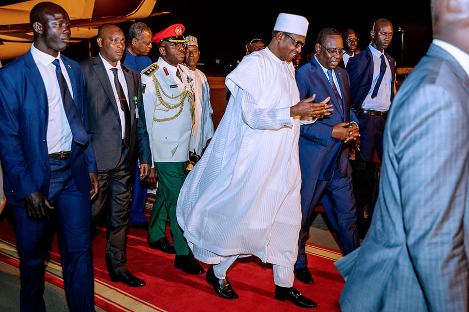 Buhari in Senegal Okay ng 3 - Buhari lands in Senegal ahead of Presidential Inauguration ceremony [Photos]