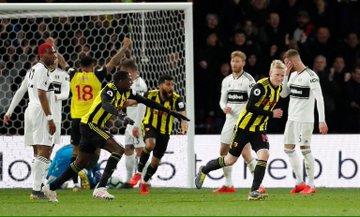 D3LayjgX4AAv7Cg - Watford thrash Fulham 4-1: Premier League Highlights [Video]