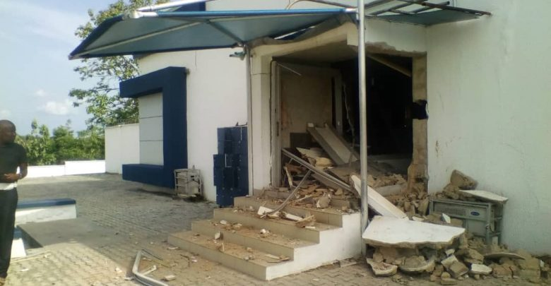 Photo of Photos from Bank robbery in Ondo, one suspect arrested