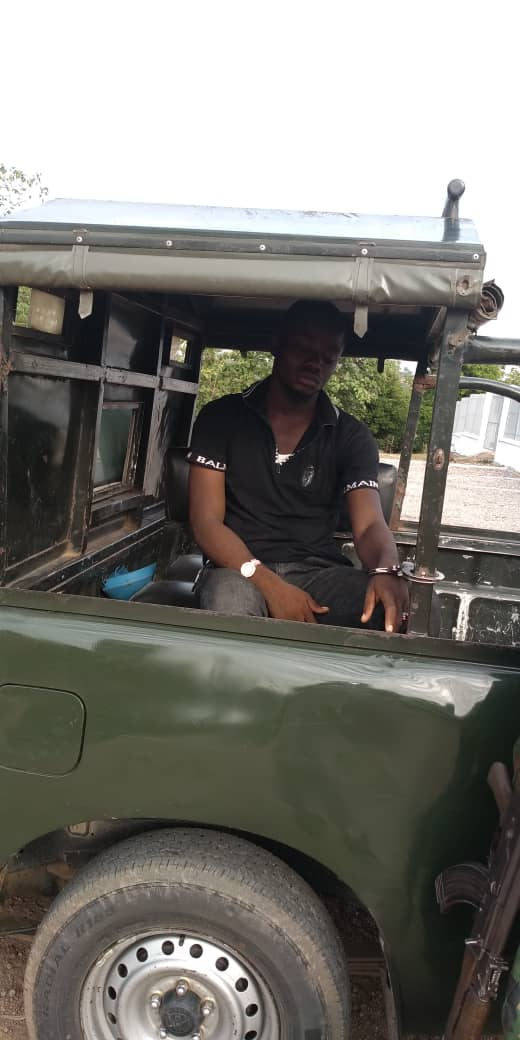 D3pcfJ W4AA7GkG - Photos from Bank robbery in Ondo, one suspect arrested