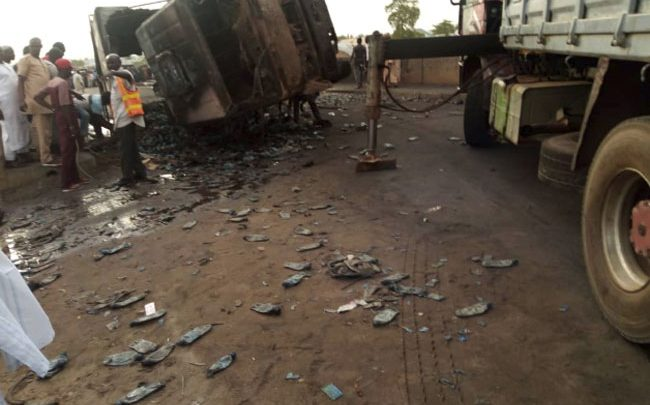 Photo of Number of dead persons in Gombe tanker explosion rises to 16