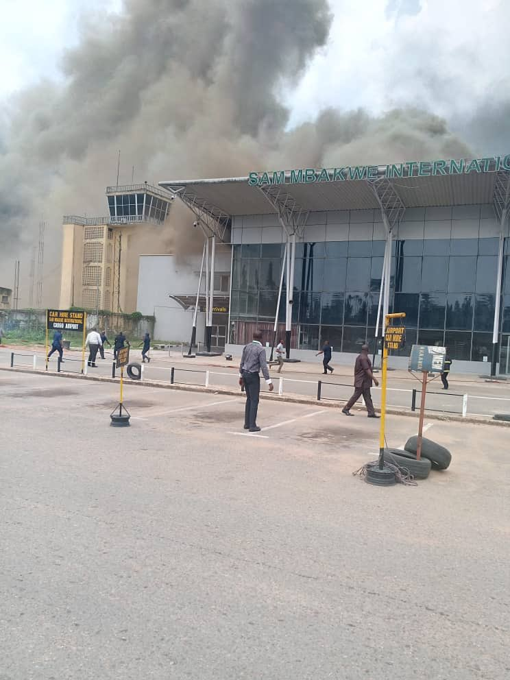 Imo Airport Okay ng - Imo Airport Fire: FAAN begins investigations