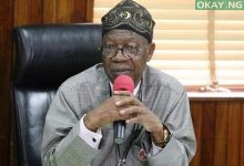 Photo of Lai Mohammed: Nigerian ministers donate 50% of March salary to fight COVID-19