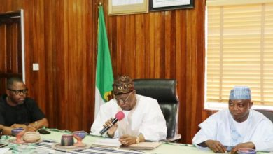 Lai Mohammed Press Briefing Okay ng 390x220 - Lai Mohammed warns Atiku to stop overheating the polity