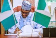 Photo of Buhari signs executive order against open defecation