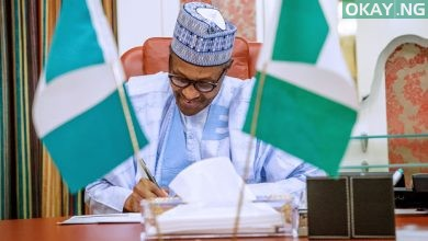 Photo of Buhari signs Police Bill into law