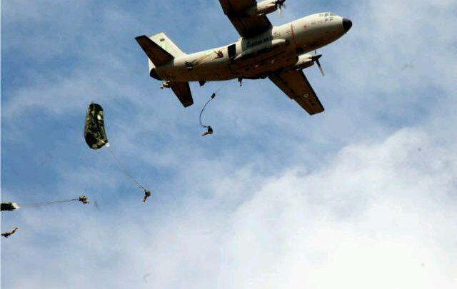 Photo of Air Force airman dies during parachute training in Kaduna