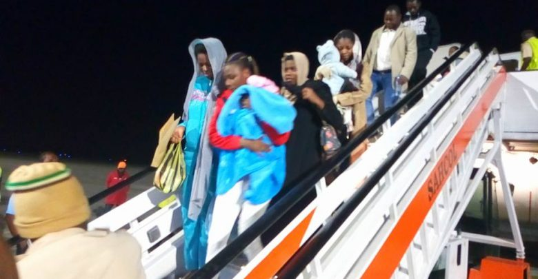 Photo of NEMA, NAPTIP receive 161 Nigerians returnee from Libya in Lagos