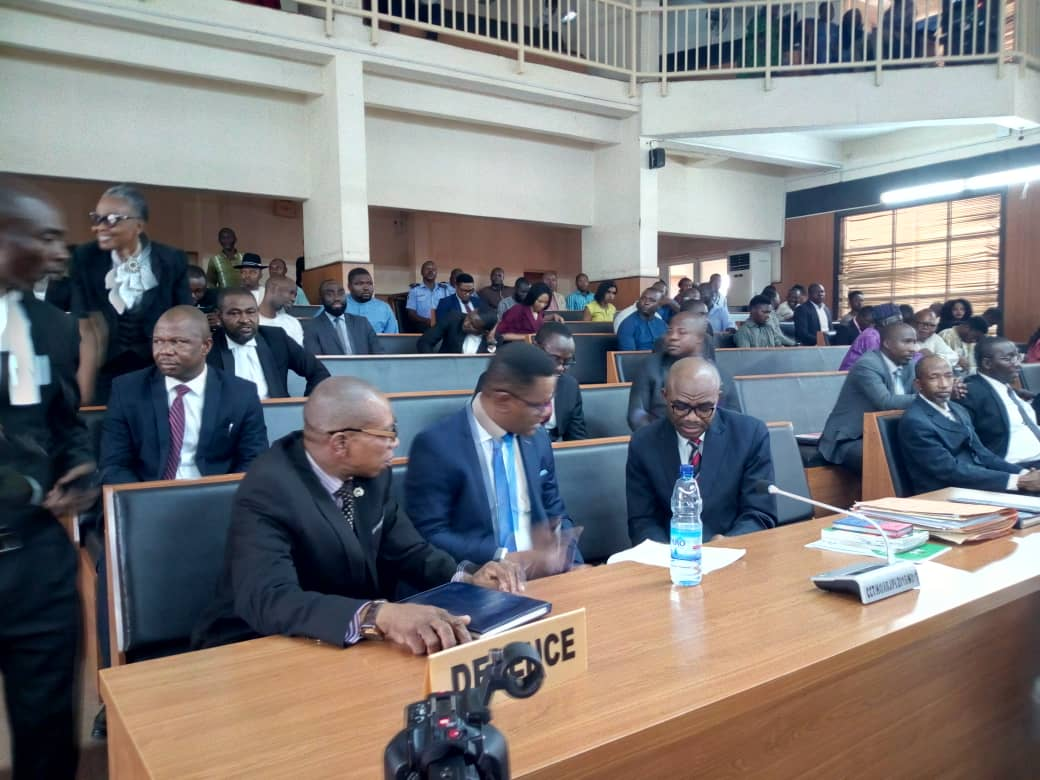 Onnoghen Okay ng 3 - Onnoghen at CCT as he awaiting final verdict on his trial [Photos]