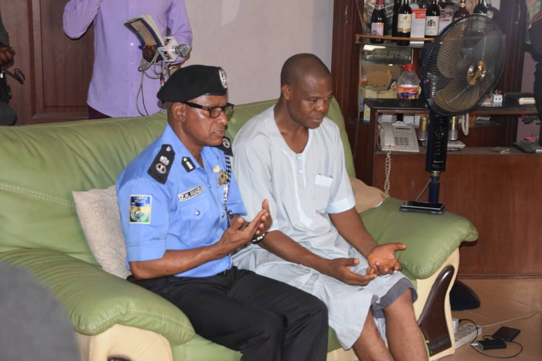 Police CP Kolade family Okay ng 1 - Lagos Police Commissioner visits Kolade Johnson's family [Photos]