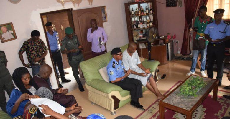 Photo of Lagos Police Commissioner visits Kolade Johnson's family [Photos]