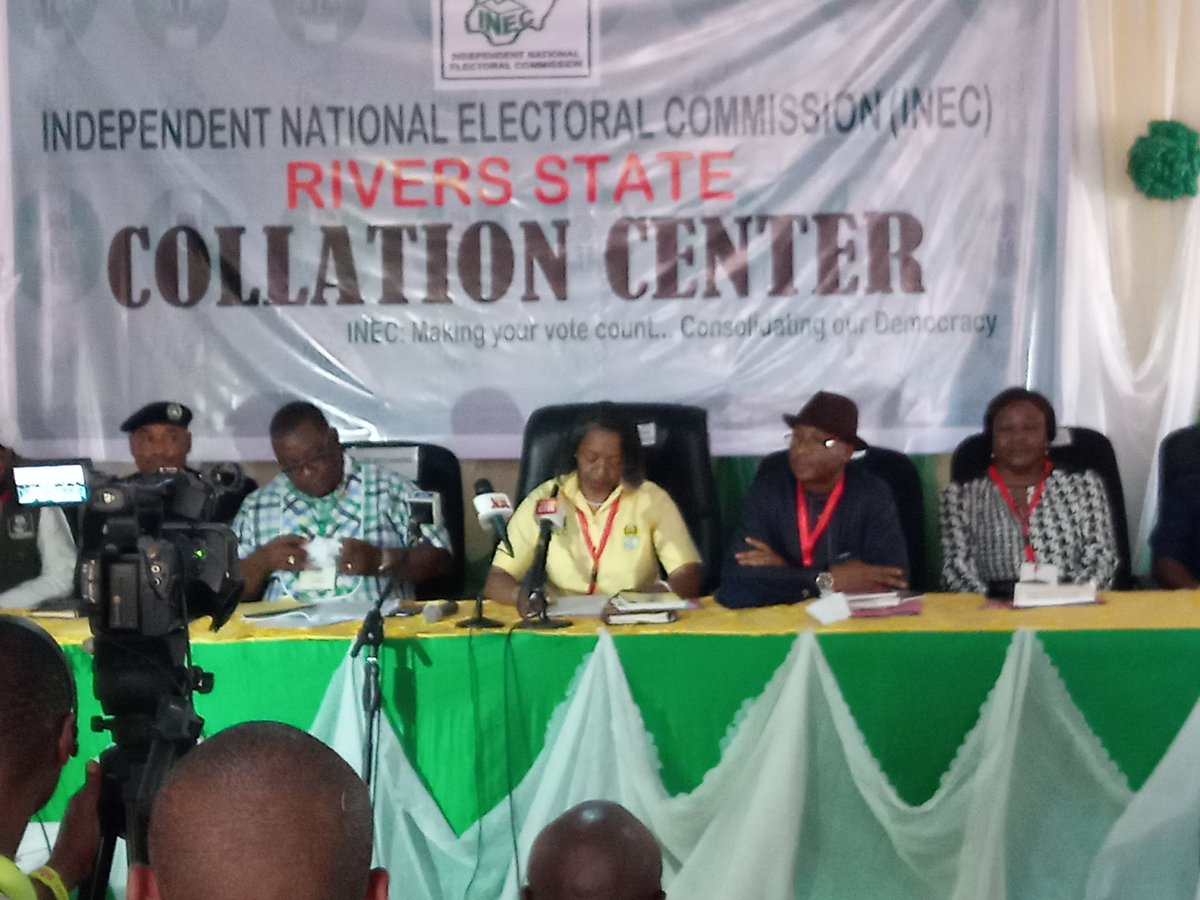 Rivers Collation Okay ng - Rivers 2019: Official governorship election results – LIVE UPDATES