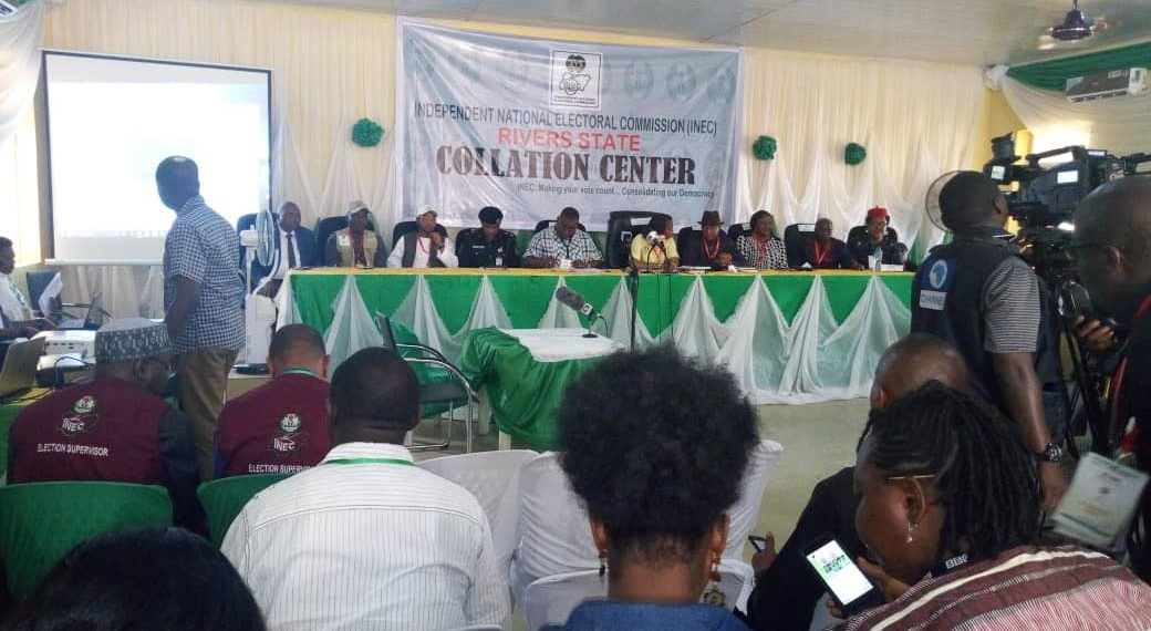 Photo of JUST IN! INEC continues results collation in Rivers state