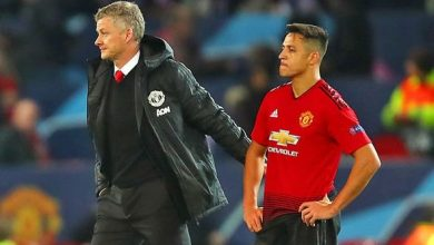 Ole Gunnar Solskjaer and Alexis Sanchez