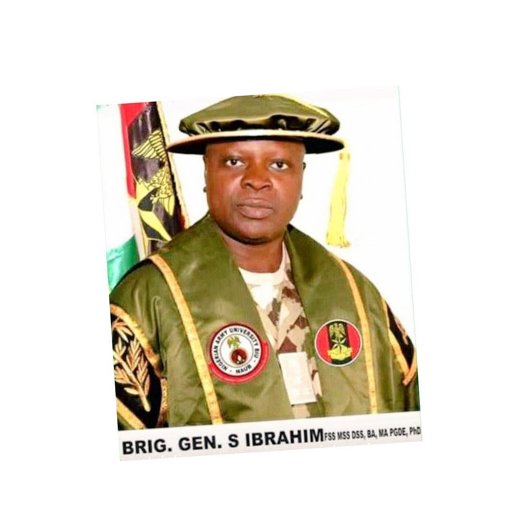 Photo of Brigadier General Shuaibu Ibrahim appointed as new NYSC DG