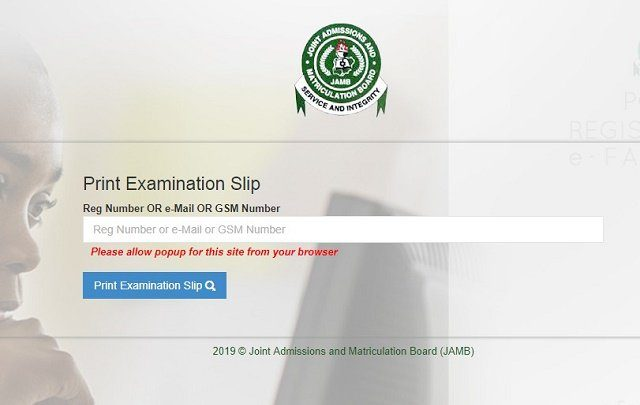 Photo of 2019 UTME: Simple steps to print your examination slip