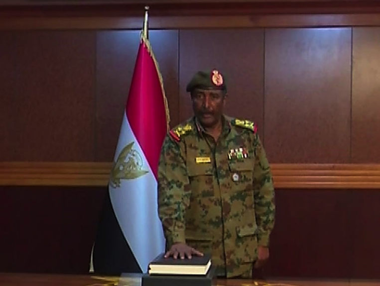 Sudan new head military council Okay ng - Sudan's chief of military council gives directives for release of detained protesters