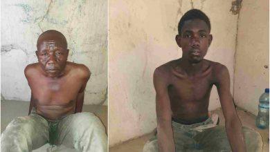 Suspects Zamfara Okay ng 390x220 - Nigerian troops arrest two informants to bandits in Zamfara [Photos]