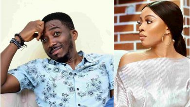 Toke Bovi Okay ng 390x220 - Toke Makinwa fires at Bovi for making joke about her bum