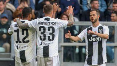 alex sandro federico bernardeschi miralem pjanic cropped 1o452mq49mzt717e0ioq18vxz1 390x220 - Juventus defeats Fiorentina 2-1 to clinch Serie A title [Video]