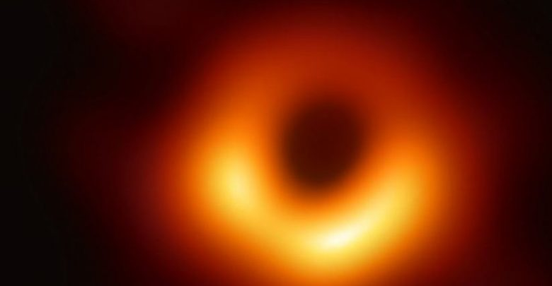 Photo of Astronomers share first-ever photo of black hole