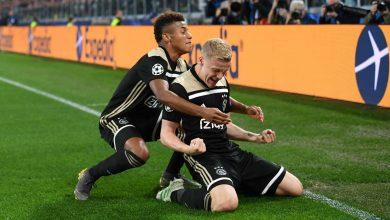 david neres and donny van de beek cropped u81maabqvxwz1r6x96mcynbz8 390x220 - Ajax defeats Juventus 2-1: UEFA Champions League Highlights [Video]