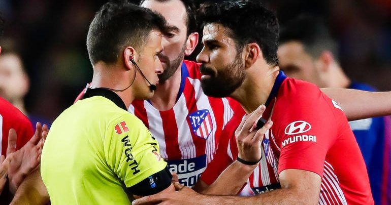 Photo of Diego Costa slammed with eight-match ban for abusing referee