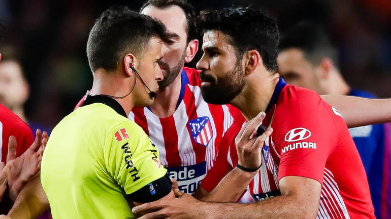 diego costa Okay ng - Diego Costa slammed with eight-match ban for abusing referee