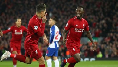 naby keita cropped 1wxjcs0q27k7y1ilp3rr8da61s 390x220 - Liverpool secures 2-0 win against Porto: UEFA Champions League Highlights [Video]
