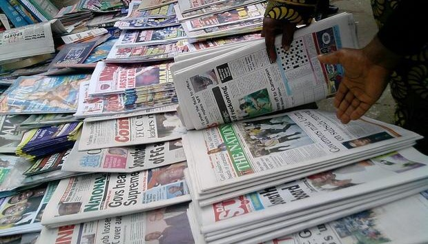 Photo of News in Nigeria: Top Newspapers Headlines Today, Apr. 2, 2019