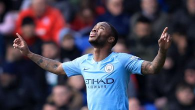 raheem sterling 13ubtffxc19vb1ucw3gqhlo7at 390x220 - Manchester City clinch 3-1 win over Crystal Palace: Premier League Highlights [Video]