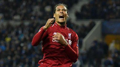 vandijk cropped 4ts8sxe0x8rqz2sjtz9ypav1 390x220 - Liverpool trash Porto 4-1: UEFA Champions League Highlights [Video]