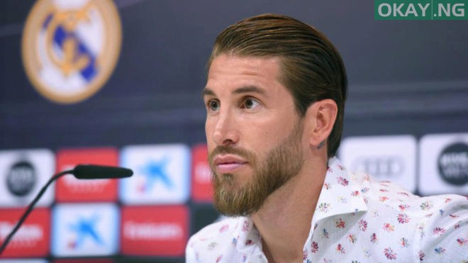 Ramos during the press conference.