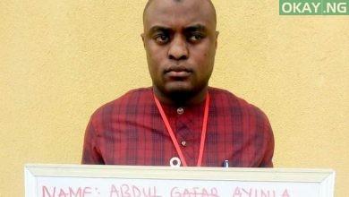 Abdulgafar Ayinla in EFCC net