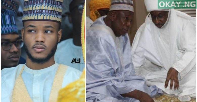 Photo of Read what Emir Sanusi's son wrote about controversy surrounding creation of four new emirates in Kano