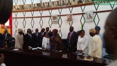 Ajimobi Perm Sec Okay ng 390x220 - Oyo: Ajimobi swears in 11 new permanent secretaries