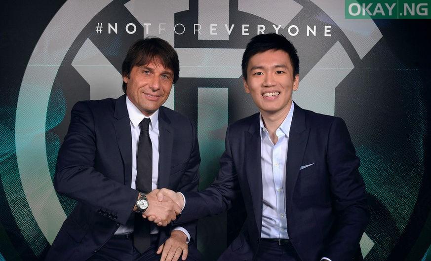 Antonio Conte becomes Inter Milan's new coach