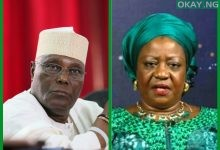 Atiku Lauretta Okay ng 220x150 - Atiku warns Buhari's aide, ask for N500m damages, apology over defamatory comments