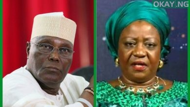 Atiku Lauretta Okay ng 390x220 - Atiku warns Buhari's aide, ask for N500m damages, apology over defamatory comments