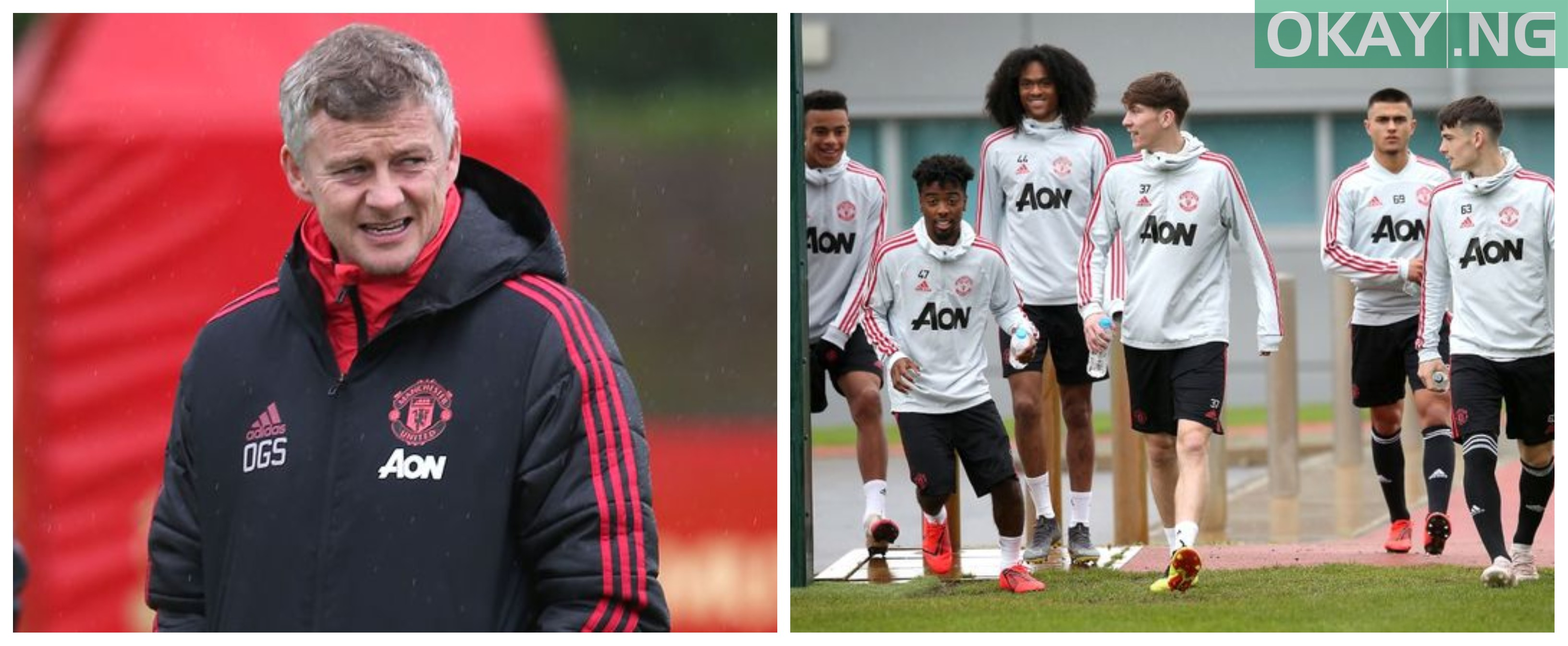 BeFunky collage 2 - Solskjaer promote six youth players ahead of Sunday's game against Cardiff