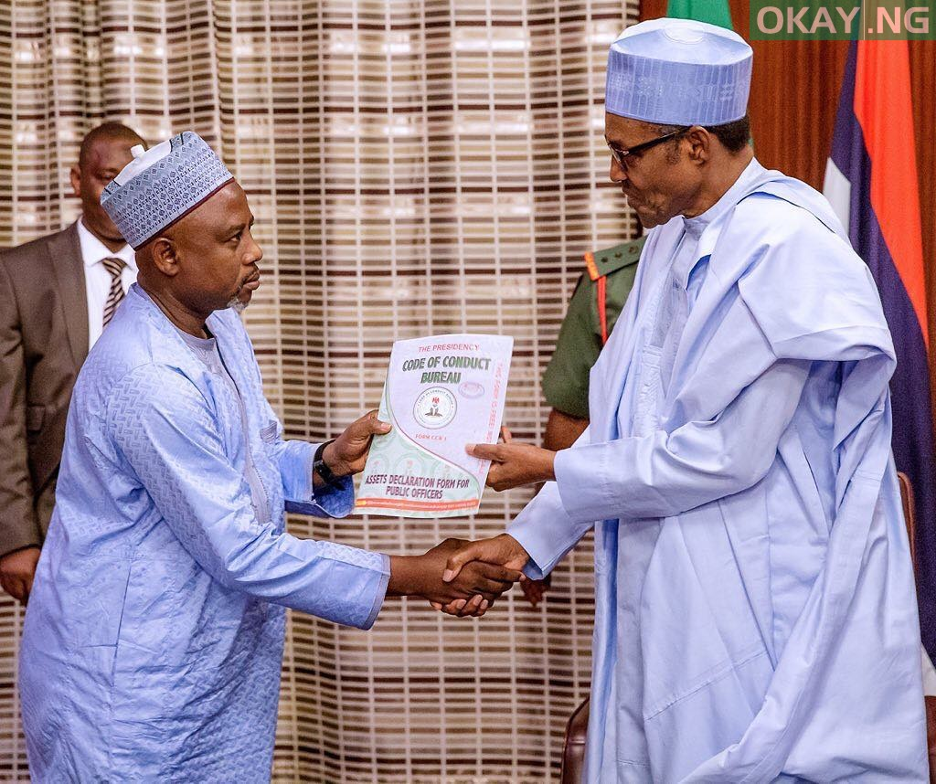 Photo of Buhari submits asset declaration forms to CCB ahead of swearing-in