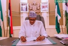 Photo of Buhari writes Senate, seeks approval of N10.069bn to Kogi government