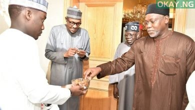 Buhari Tinubu Saudi Okay ng 1 390x220 - Buhari hosts Tinubu, others to iftar dinner in Saudi [Photos]