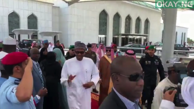 Buhari leaves 1 390x220 - Buhari completes lesser hajj, leaves Saudi for Abuja [Video]
