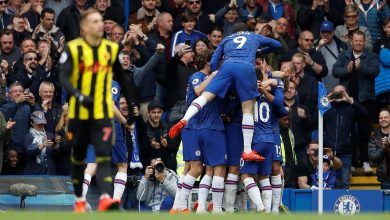 Chelsea HUD Okay ng 390x220 - Chelsea thrash Watford 3-0 in Premier League clash [Video]